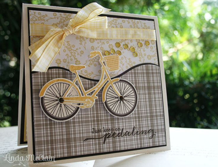Just Keep Pedaling by StickUps - Cards and Paper Crafts at Splitcoaststampers
