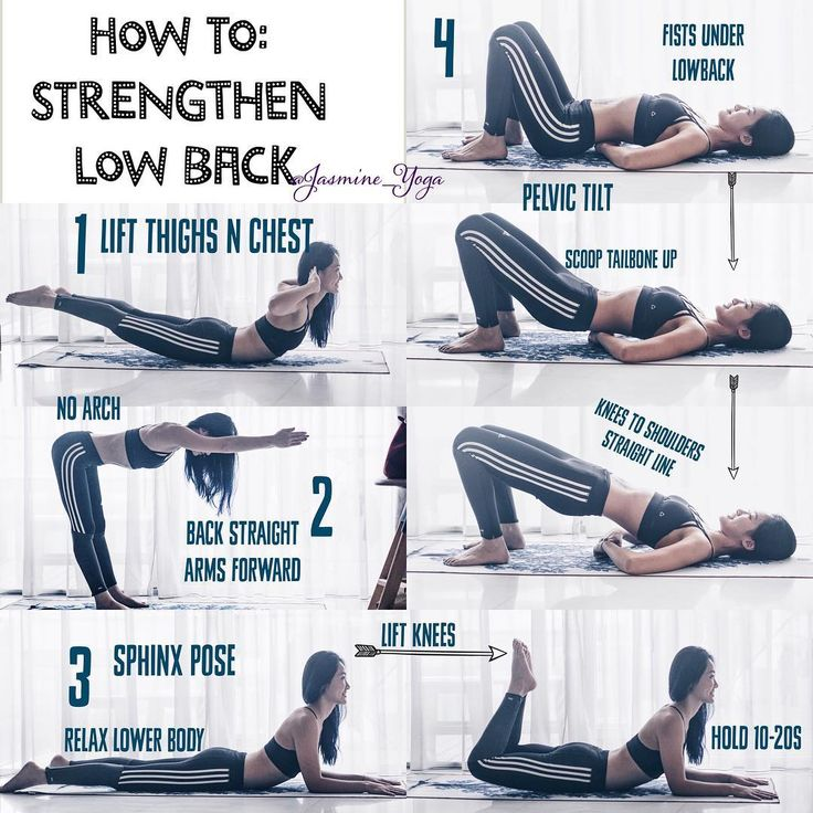How To Strengthen Lower Back See this Instagram photo by @jasmine_yoga • 2,128 likes