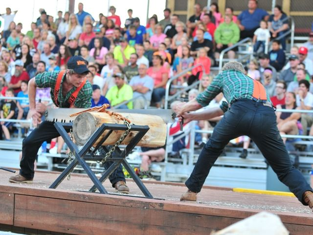 Paul Bunyan's Northwoods Lumberjack Show blends age old lumberjack competitions and extreme sports entertainment.