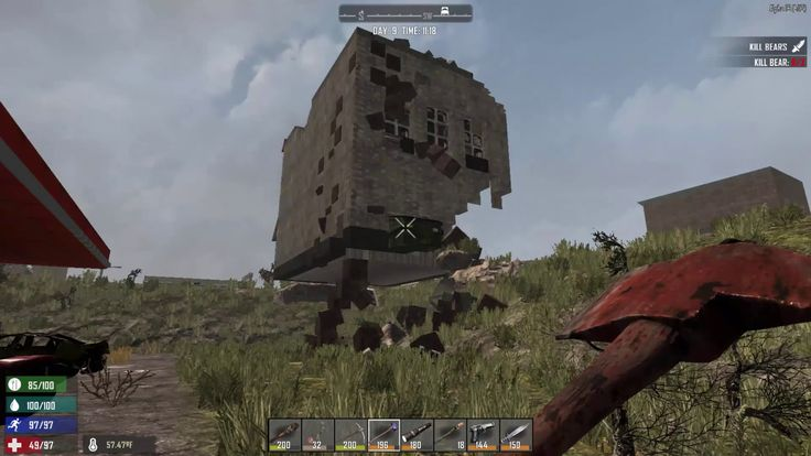 Days To Die Build Physics
