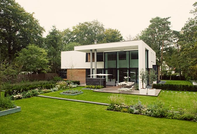 17 best images about giardini on pinterest gardens hedges and modern landscaping for Tuin modern design