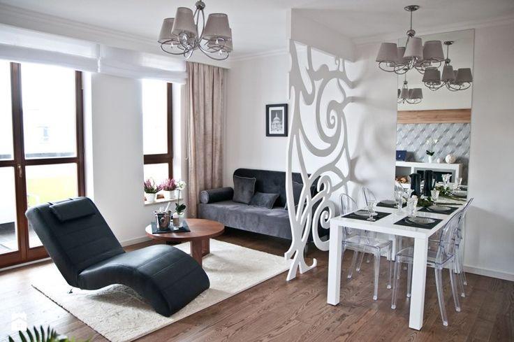 Salon połączony z jadalnią - zdjęcie od GALERIE VENIS DESIGN STUDIO
