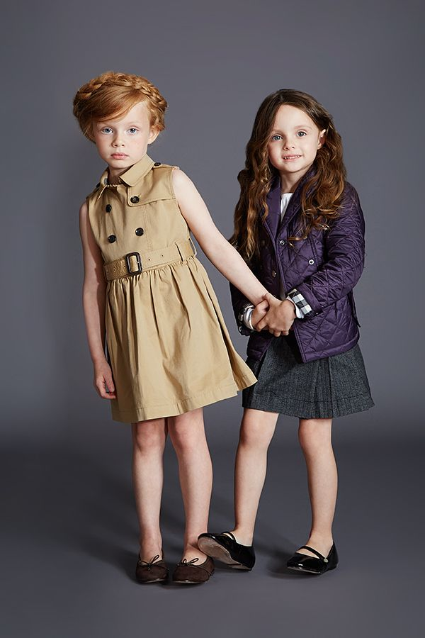 Outfit your little ones in updated classics from Burberry.