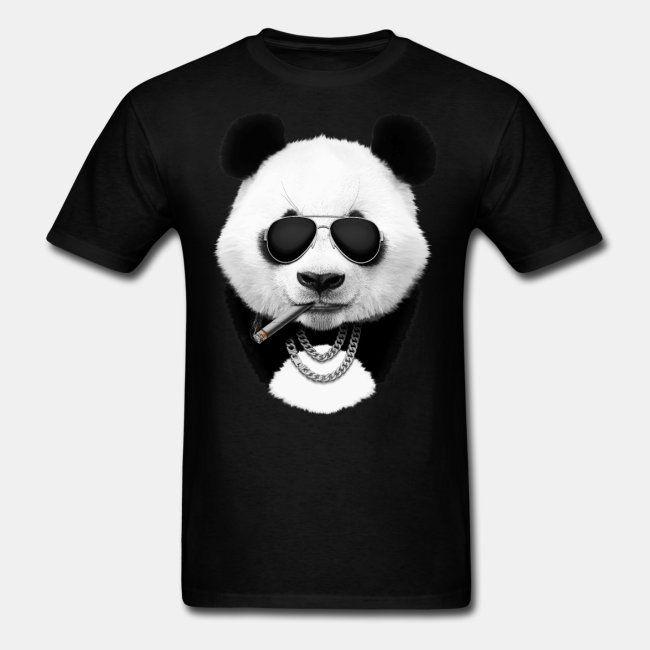 Panda in black  #sun #sunset #dusk #panda #pandabear #bear #animal #cool #travel #summer #cool #funny #print #buy #sale