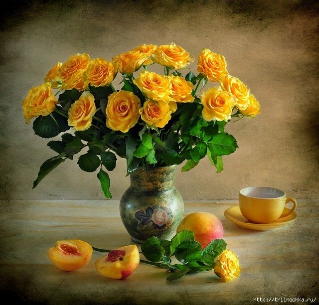 Дарите желтые цветы! Натюрморты!. Обсуждение на LiveInternet - Российский Сервис Онлайн-Дневников