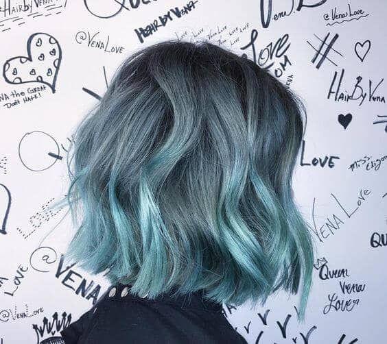 27 Super Cool Blau Ombre Frisuren – Neue Damen Frisuren