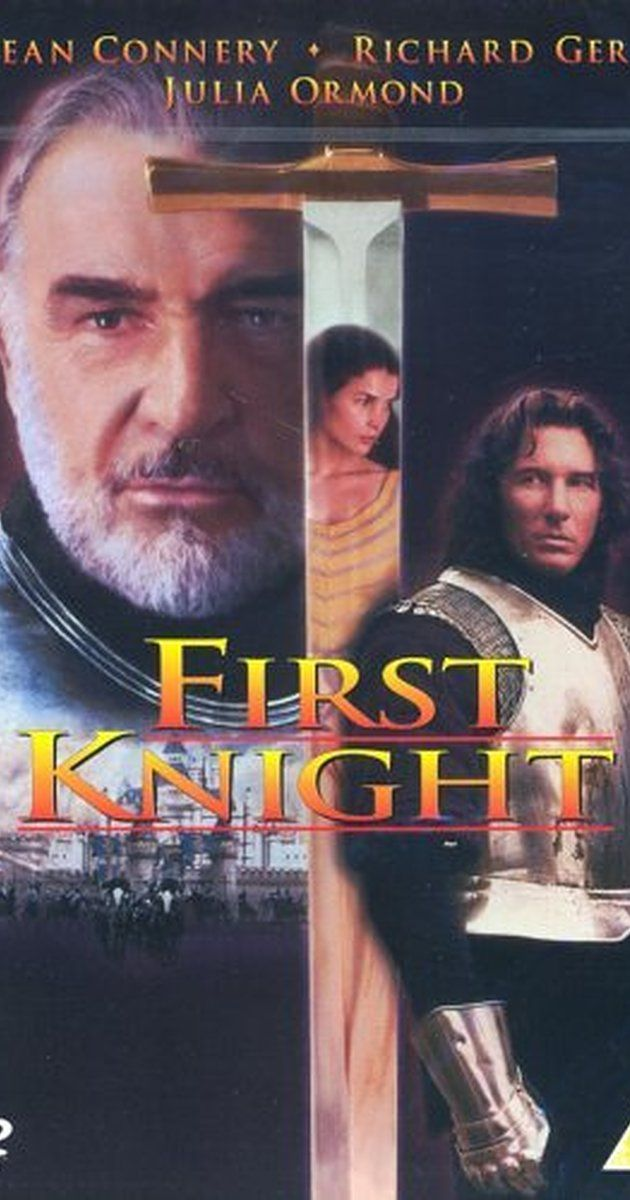 Directed by Jerry Zucker.  With Sean Connery, Richard Gere, Julia Ormond, Ben Cross. Lancelot falls in love with Guinevere, who is due to be married to King Arthur. Meanwhile, a violent warlord tries to seize power from Arthur and his Knights of the Round Table.