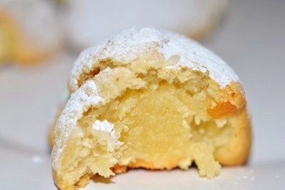 Marzipan Pillow cookies  - on the top 5 best cookie list - the recipe list is not well written but can be tweaked