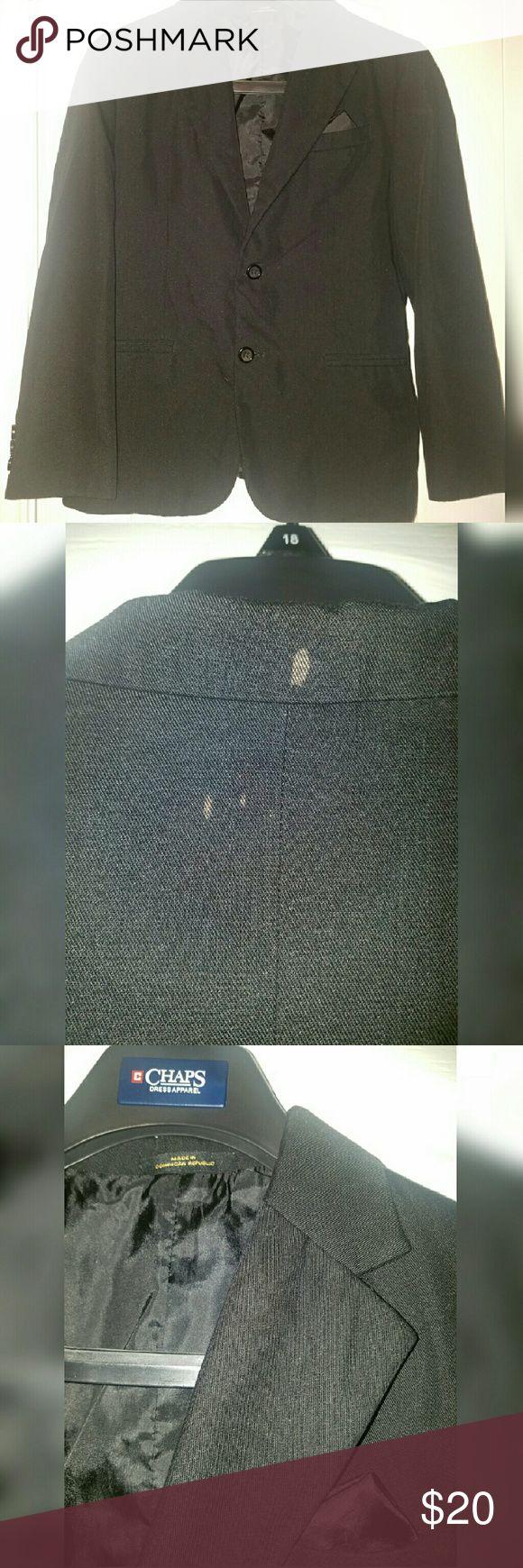George boys suit blazer Boys black blazer, size 14.  2 small bleach stains on back George Jackets & Coats Blazers