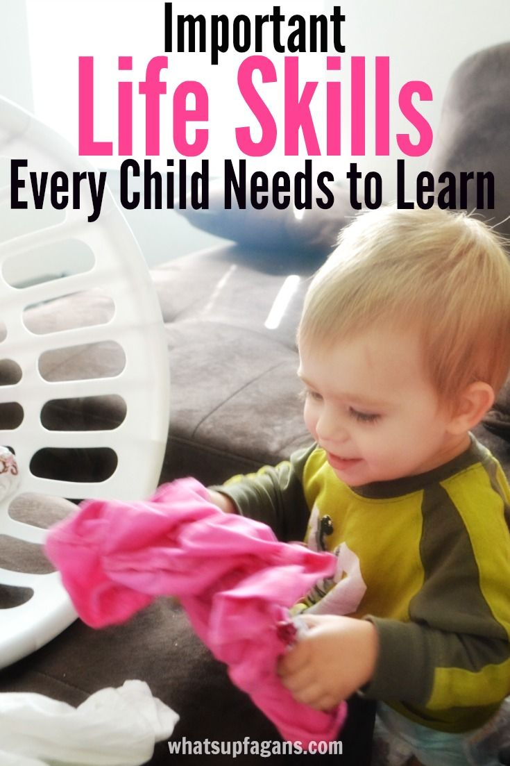 An awesome list of life skills for kids, especially preschoolers to learn. Smart tricks for teaching them to your child. Learn more than the ABC's and 123s.