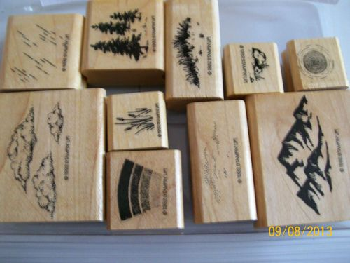 Stampin Up Ret Scenery