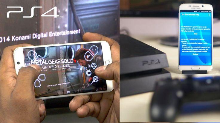 Come giocare gratis ai giochi PS4 su smartphone e tablet android. Come giocare la PS4 su tutti gli Android. Usare il PS4 Remote Play su qualsiasi Android.