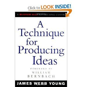 Make no mistake, this is the best book on creating ideas I have ever read.