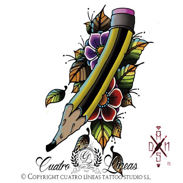 Sketchito!   Cuatro Líneas Tattoo Studio  912593020 Estudio de tatuaje artístico   Máxima higiene y profesionalidad Madrid,  carabanchel Metro oporto - urgel   tags tattoo tatuaje madrid carabanchel arte art tattoos tatuajes original tattooartist tattooart love smile amazing look colorful girl happy beautiful tattoogirl funny color blanco y negro, black and white rose brush pencil flower