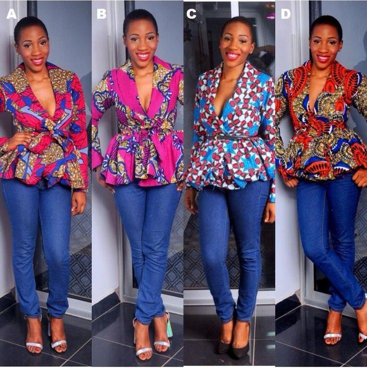 Ankara Peplum Blazers Latest African Fashion African Prints African Fashion Styles African