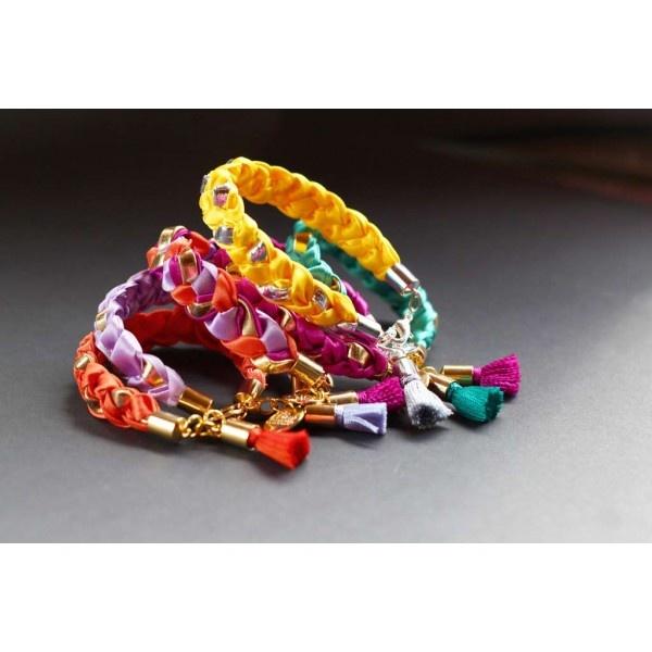 bracelet, tresse, color, neon, fashion, chérie sheriff