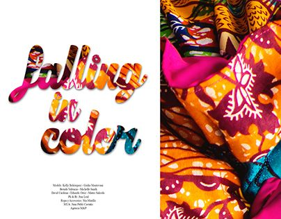 """Check out new work on my @Behance portfolio: """"FALLING IN COLOR"""" http://on.be.net/1BPkF08"""