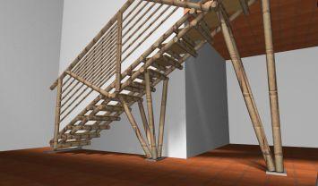 17 mejores ideas sobre escaleras de bamb en pinterest - Escaleras de bambu ...