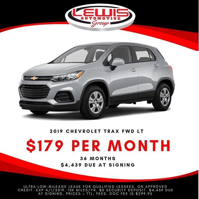 Lease A New Chevy Trax For 289 Month From Lewis Chevrolet Chevytrax Chevytruckmonth Lewisautomotive Lewischevrolet Buylocal Buyforless Chevrolet Trax