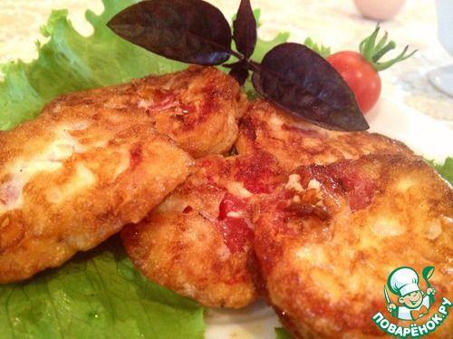 рецепт жаренных помидоров в сырном кляре