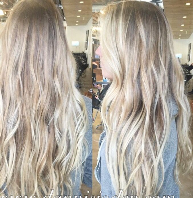 Platinum Blonde Balayage Hair Color Idea: 1000+ Ideas About Growing Out A Bob On Pinterest