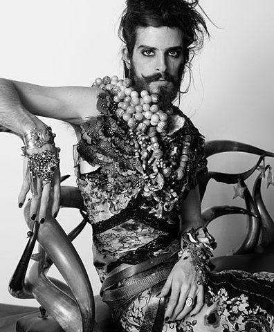 Devendra by Jean-Baptiste Mondino.  singer-songwriter and visual artist