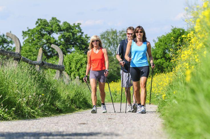 Nordic Walking in Burg: Diese kurze Nordic Walking Tour durch Burg (Spreewald) ist gut geeignet für Walking-Einsteiger.