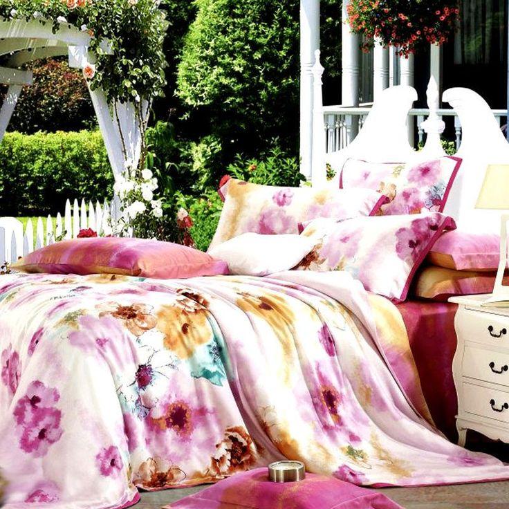Completo lenzuola matrimoniale maxi copripiumino di Tencel® *Maroni*