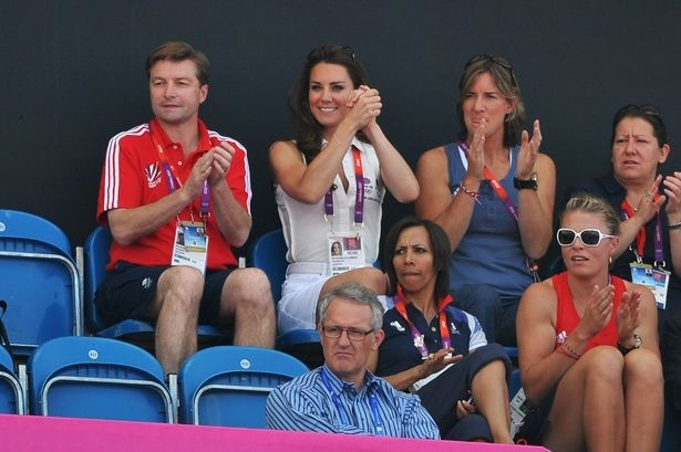 Kate watches Team GB hockey