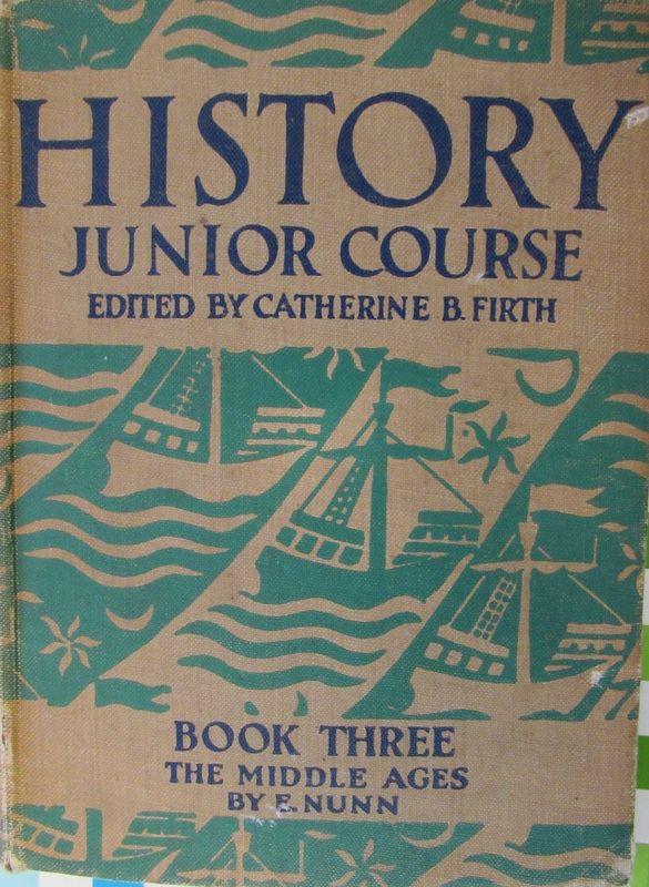 old school history book