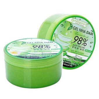 Mua Bộ 2 gel nha đam tươi mát làn da Milaganics 300ml chính hãng, giá tốt tại Lazada.vn, giao hàng tận nơi, với nhiều chương trình khuyến mãi giảm
