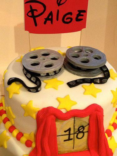 #Fondant #FilmReels for Movie Cake