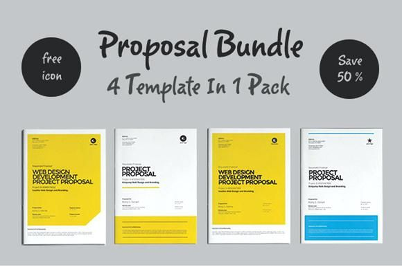 Creative Project Proposal Template 15 Best Business Proposal