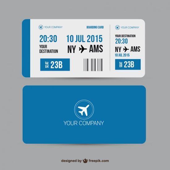 Best 25+ Boarding pass template ideas on Pinterest Boarding pass - free ticket invitation template