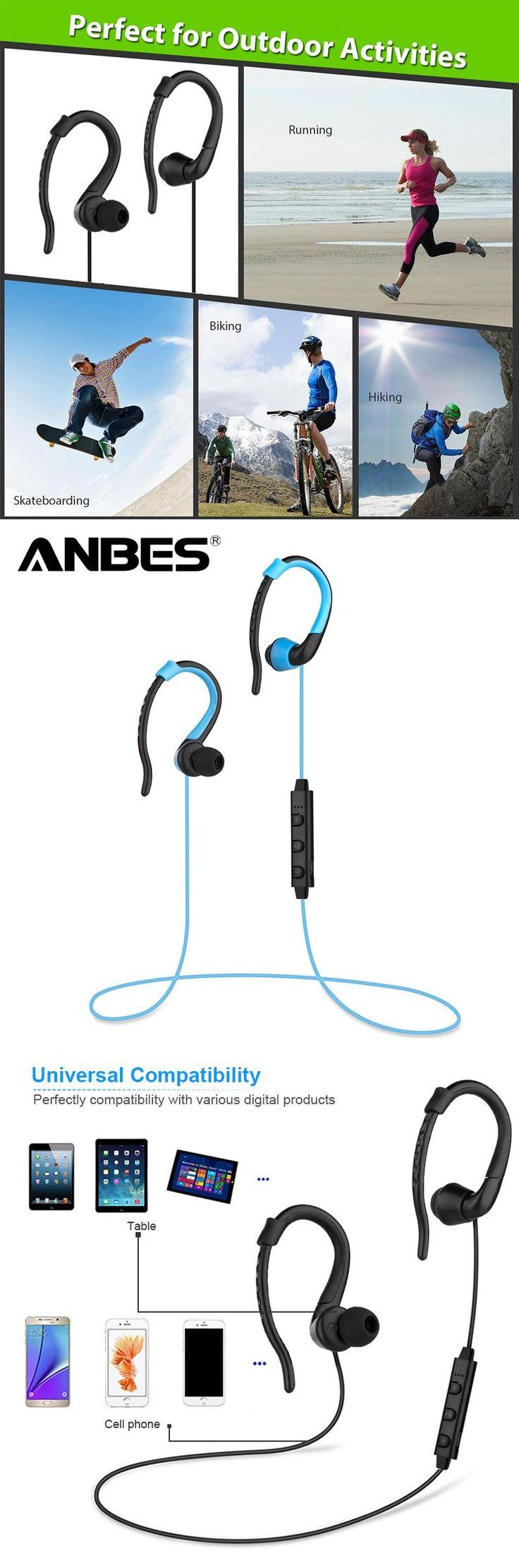 Wireless Headset Bluetooth 4.0 Stereo Ear Phone Sport Bluetooth Headphone Earphone for iPhone Samsung Audifonos