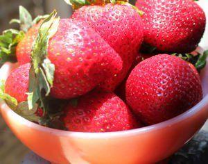 Refrigerator Strawberry Jam