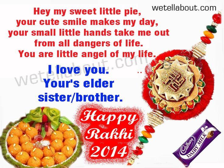 rakhi greeting sms pictures