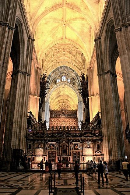 Interior de la Catedral de Sevilla