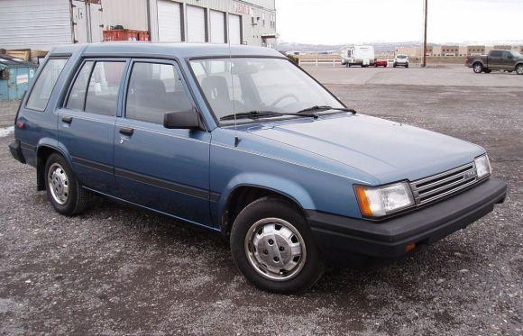 1987 Toyota Tercel DLX Wagon - my second car