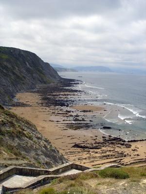 Barrika Beach  in Barrika  Basque Country