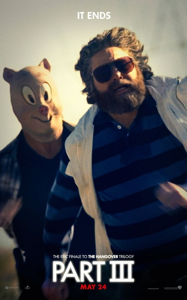 The Hangover: Part III Character Posters: The Wolfpack