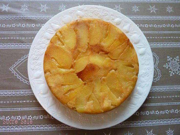 Voici la recette d'un Gâteau Normand légèrement alcoolisé et parfumé.   La texture est très moelleuse.   Ce gâteau est très simple à ...