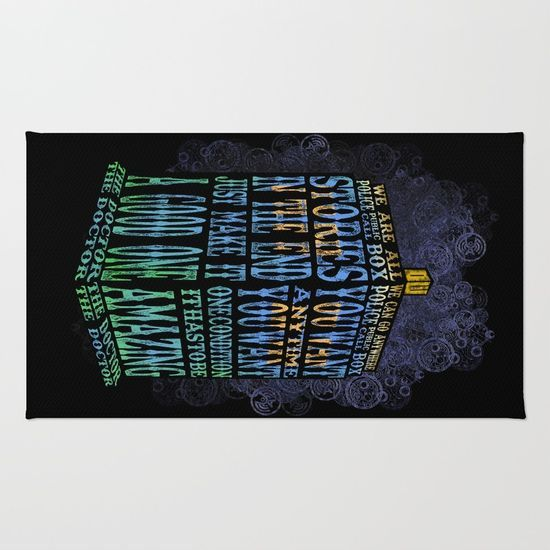 Doctor ho Blue Phone Booth Typography RUG  #rug #digitalart #digital #graphicdesign #drawing #ink #pen #colored #pencil #typography #streetart #vintage #tardis #doctorwho #drwho #superwholock #wholock #whovian #davidtennant #10thdoctor