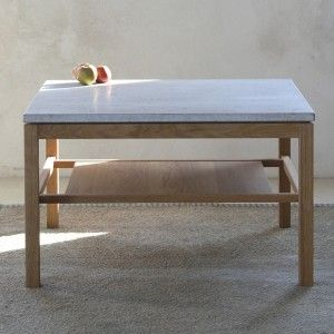 to make: Gad Hejnum Oak & Limestone Coffee Table