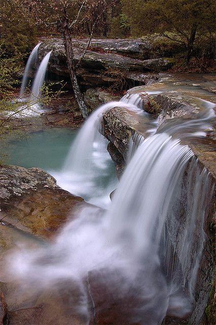 Burden Falls upper cascade...southern Illinois