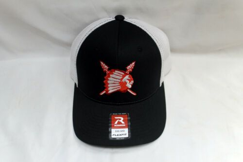 Details about Richardson Fitted Trucker Baseball Hat with R