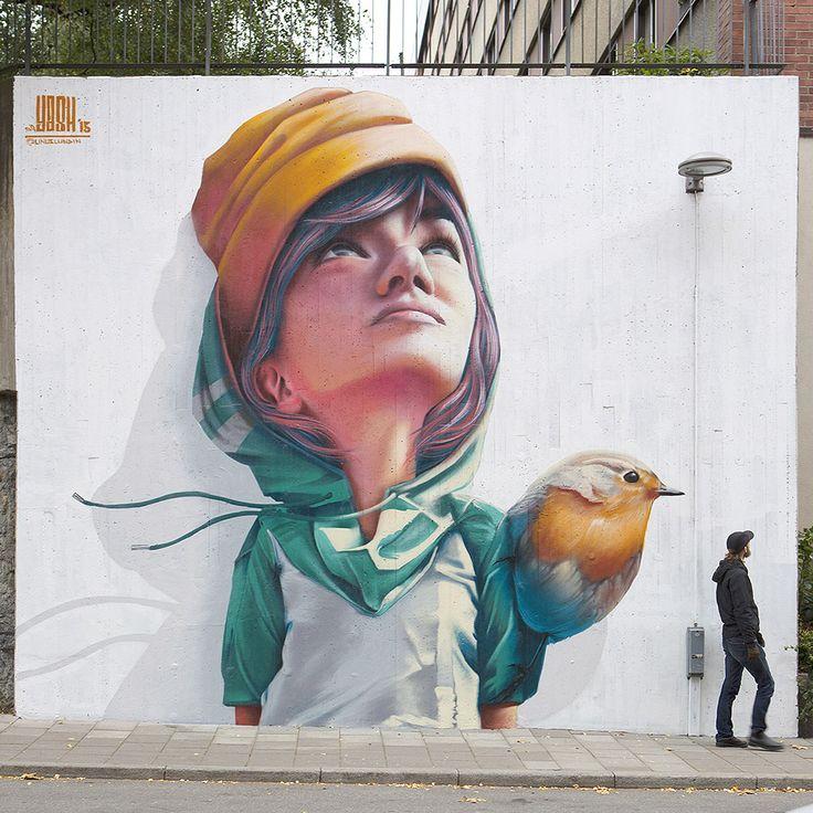street art portraits by Yash. #streetart #urbanart #graffiti
