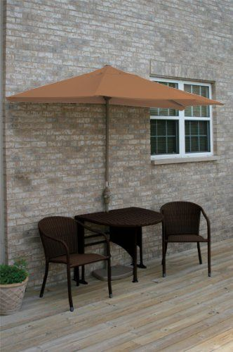 Terrace Mates Genevieve All-Weather Wicker in Java 9 Ft. Teak Sunbrella Set (Teak / Java) (See Description) by Blue Star Group. $1132.93. Color: Teak / Java. Size: See Description. An extraordinary NEW product for expanding your outdoor leisure living.. Enjoy urban outdoor leisure at its very best, with the Terrace Mates Genevieve All-Weather Wicker in Java 9 Ft. Teak Sunbrella Set by Blue Star Group. This outdoor furniture set is an innovative design solution t...