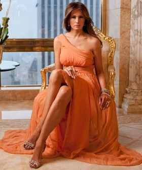 Peek Inside Melania Trump's World (And Penthouse!) #refinery29  http://www.refinery29.com/melania-trump-interview-pictures