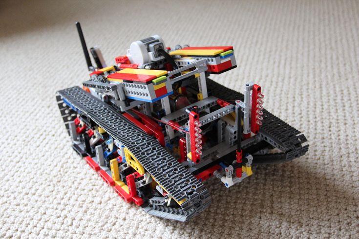 Arduino lego tank robotics pinterest